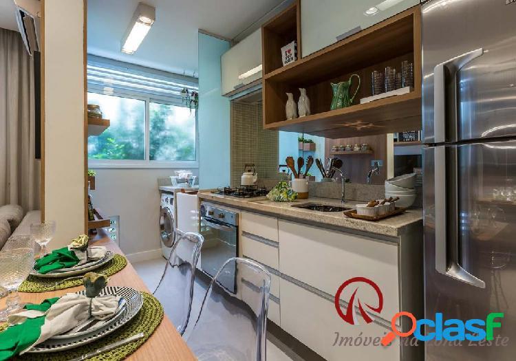 Apartamento 2 dorms, 44m², com ou sem vaga - belém