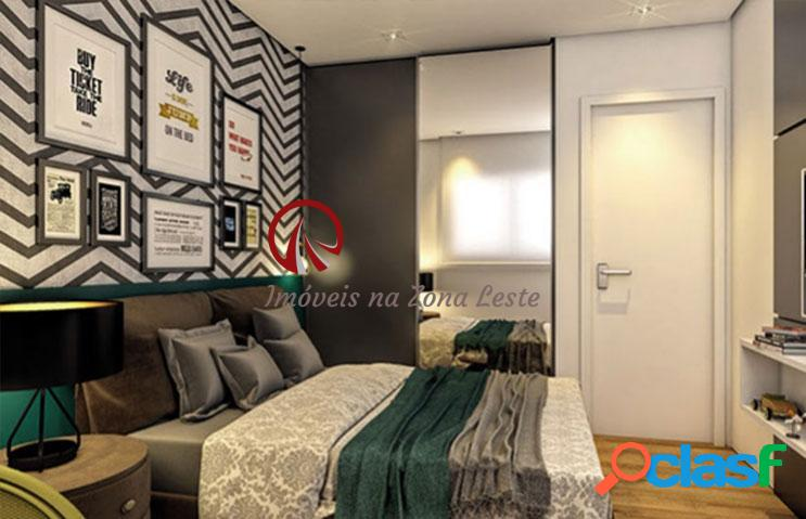 Apartamento 1 dorm, sacada, 36m², vaga - vila regente feijó - tatuapé