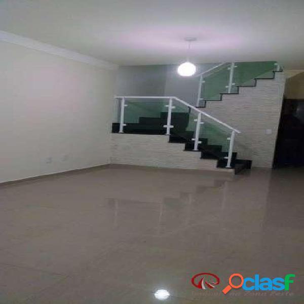 Casa sobrado frontal 3 suítes, 2 vagas, 140m² - vila carrão