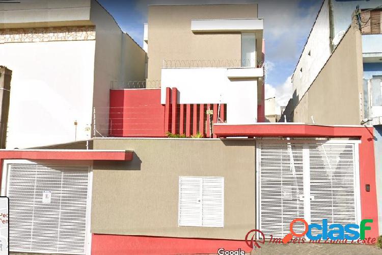 Casa sobrado condomínio 3 dorms, suíte, 126m², pronto - penha