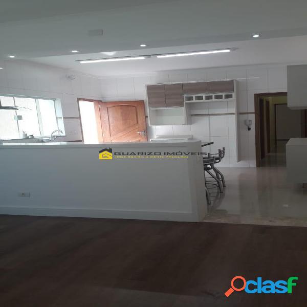 Casa à locação 3 quartos, (1) suite - jd. maria cecilia- sbc