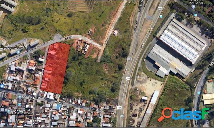 Gleba urbana - belo horizonte - bairro paulo vi - 8.800m²