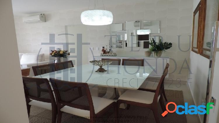 Módulo 07, lindo apartamento, 3 dormitórios, 133m².