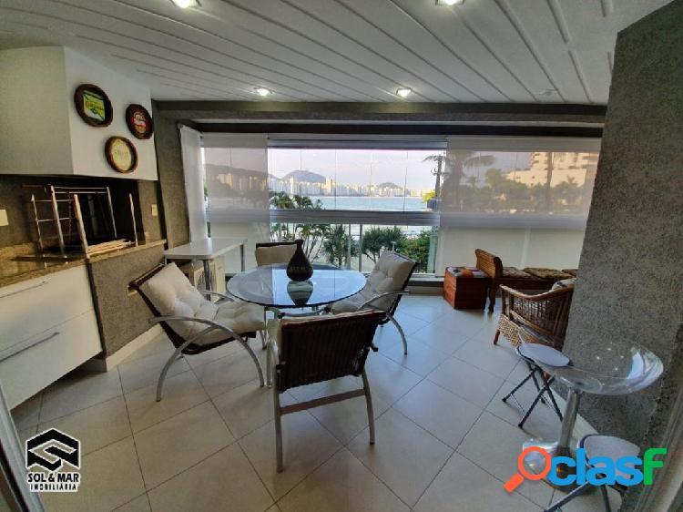 Alto padrão, apartamento enorme, vista ao mar