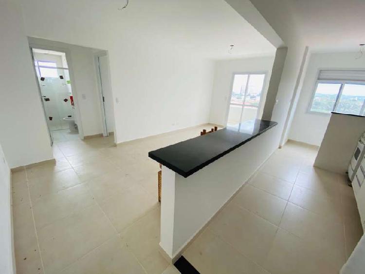 Apartamento para aluguel tem 64 metros quadrados com 2
