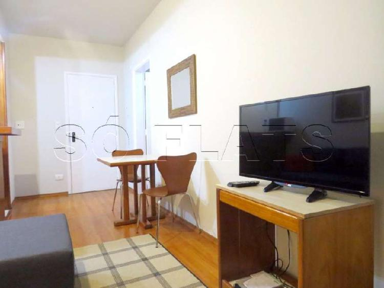 Apto residencial paulistania 1 dorm 45m² consulte-nos