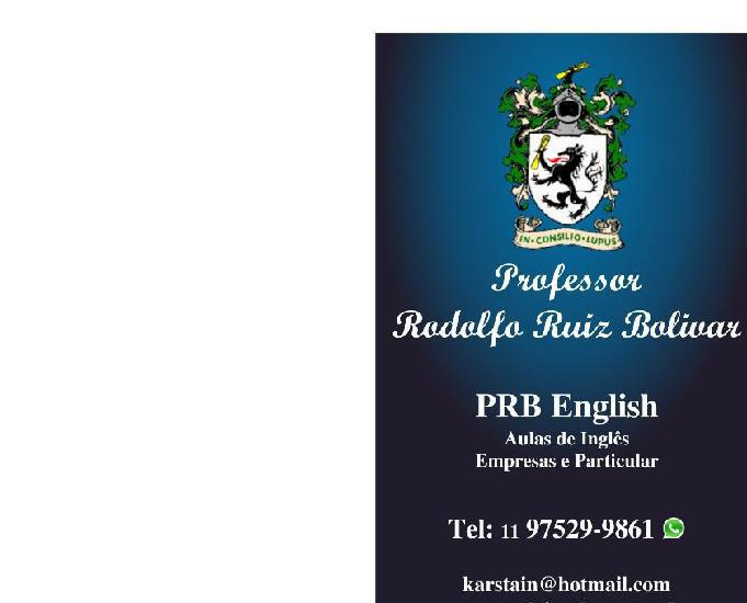 Aulas inglês via skip professor certificação