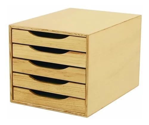 Caixa para arquivo 5 gavetas
