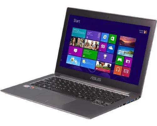Notebook asus a8-4555m 6gb 500gb touchscreen radeon full hd