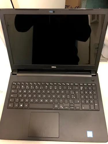 Notebook dell 5566 intel core i5-7200u 4gb 1 hd tb