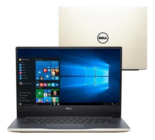 Notebook dell inspiron 14'' fullhd i7-8550u 1tb 8gb