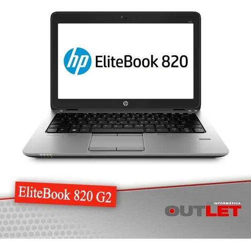 Notebook hp 820 g2 12.5 core i5 5300u 2.30ghz 4 gb 500 gb