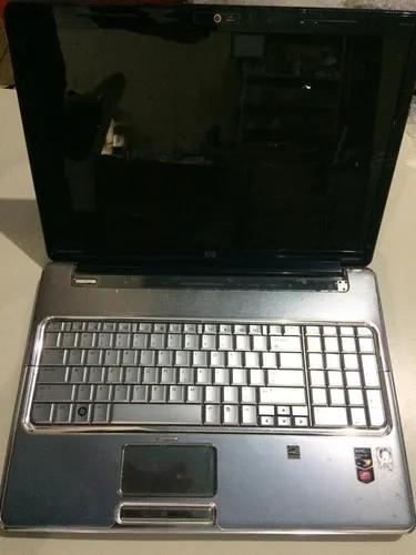 Notebook hp pavilion dv7 1451nr completo * defeito * peças