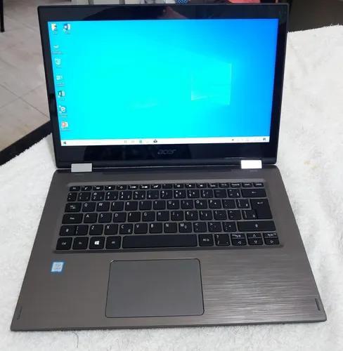 Notebook i5 8° geração acer spin3 impecavel 2