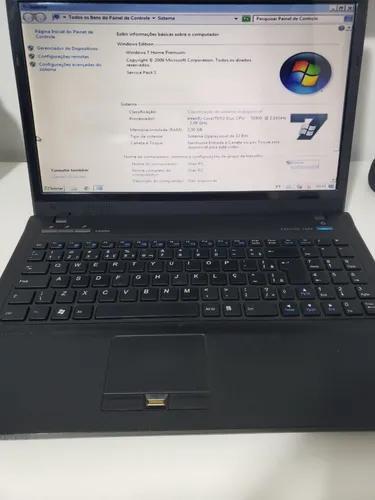 Notebook positivo corp n500 funcionando - s