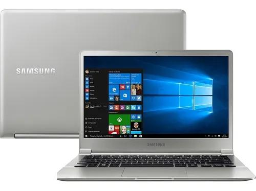 Notebook samsung style s50 core i7 8gb 256gb ssd | vitrine
