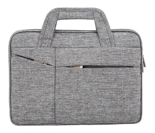 Pasta para notebook executiva briefcase fina macbook 15.6
