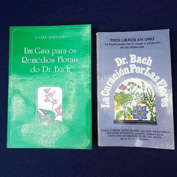 2 por 1: Livros sobre Florais do Dr. Bach