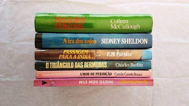 Agilize a quarentena lendo estes livros, coleção antiga