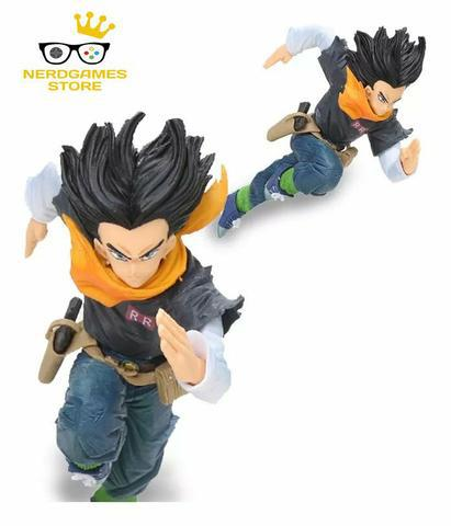 Android número 17 goku dragon ball z boneco
