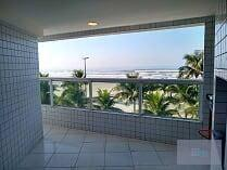 Apartamento frente mar composto com 3 dormitórios, 2 vagas