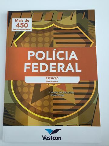 Apostila policia federal - escrivão
