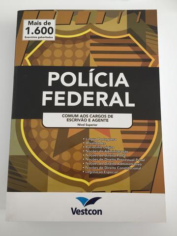 Apostila policia federal - escrivão e agente