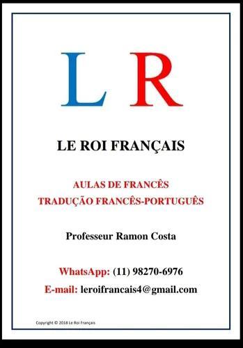 Aulas de francês e tradução francês-português