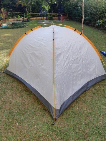 Barra de camping fit 3/4 pessoas - bem usada