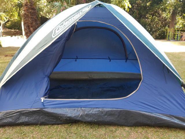 Barraca de camping coleman 2 pessoas - nova sem uso