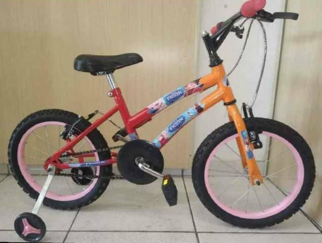 Bicicleta infantil aro 16 frozen nova zerada