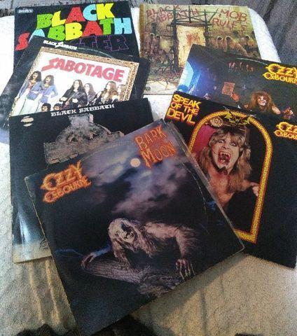 Black sabbath - ozzy osburne lp vinil disco