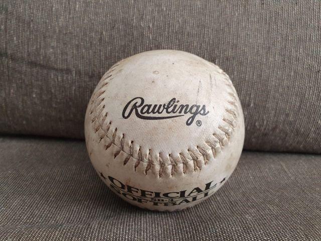 Bola oficial softball / baseball rawlings 12 polegadas