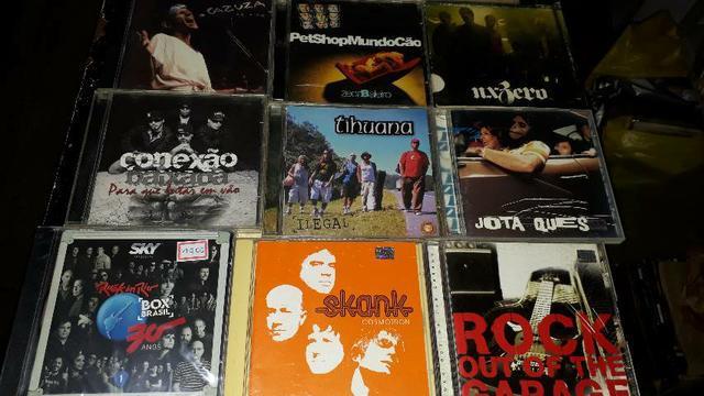 Cds de rock nacional r$ 10 cada cd