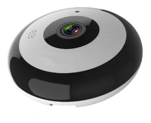 Camera ip full hd wifi panoramica 360 olho peixe 2mp onvif