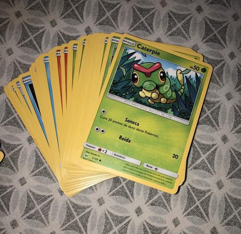 Cards pokemon - sol e lua 1