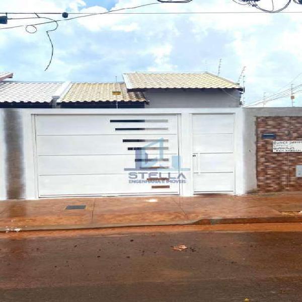 Casa à venda no bairro parque residencial dos girassóis em