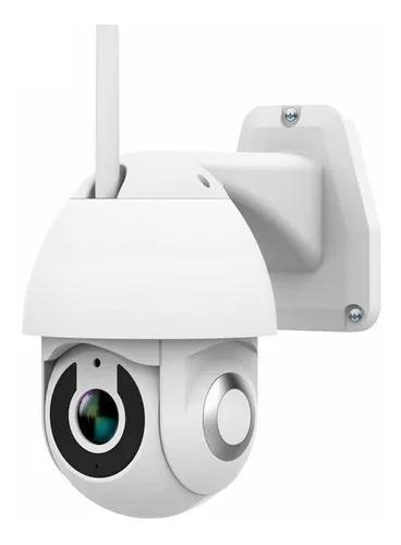 Câmera ip wifi gira 320° ptz dome prova de água hd 1080