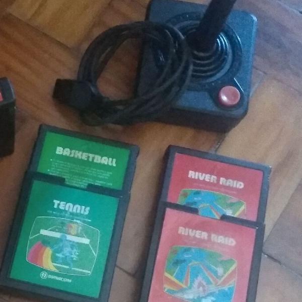 Controle+ 3 jogos atari