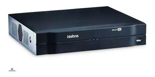 Dvr gravador digital intelbras mhdx 1108 hdcvi 8 canais