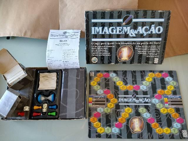 Imagem & ação 1 - jogo de tabuleiro edição vintage da