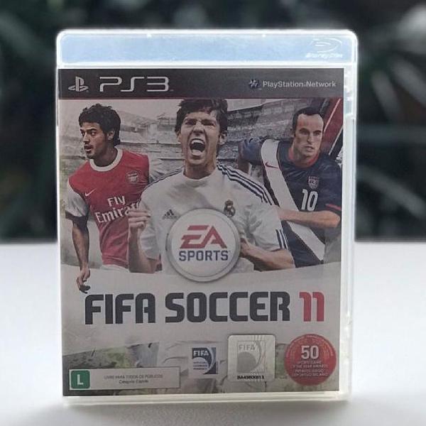 Jogo ps3 - fifa eleven (fifa11). mídia física de futebol