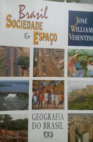 Livro de geografia. brasil sociedade e espaço.