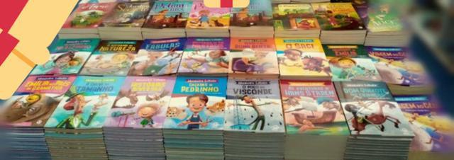 Livros infanto juvenil monteiro lobato e outros