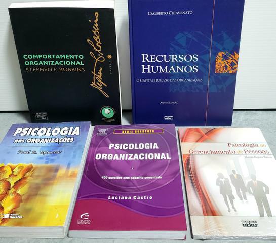 Livros sobre psicologia organizacional
