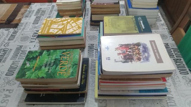 Livros usados na graduação de geografia