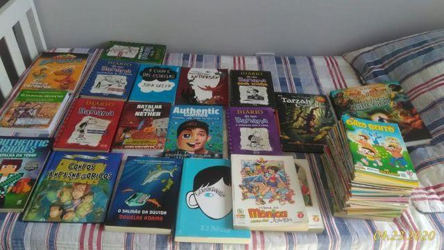 Lote de livros e quadrinhos - otimo estado de conservação