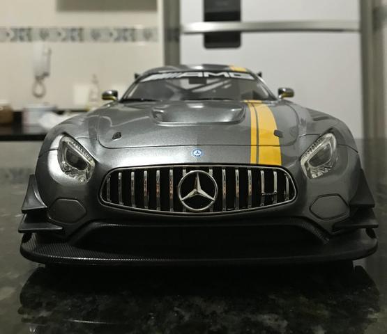 Mercedes amg gt3 r/c escala 1/14 a pilha.