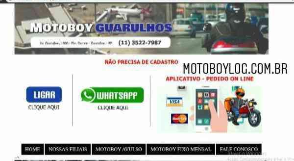 Motoboy urgente
