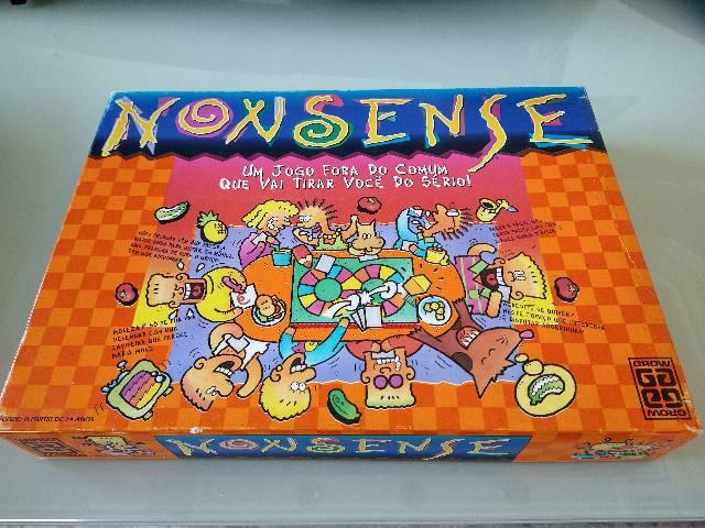 Nonsense: jogo vintage - grow - anos 80/90 raridade! para
